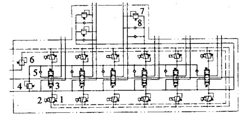 比例电磁铁在输入电流后输出机械力,推动先导减压阀阀芯动作,关闭泄油