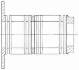 图 1-3 波纹管组件典型结构