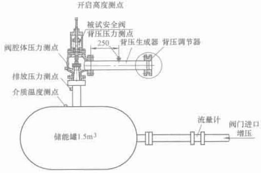 图 1-9 安全阀背压试验系统