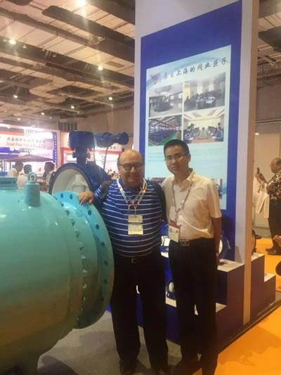 上海沪工阀门厂参加第五届 FLOWEX CHINA 上海国际泵管阀展 图5