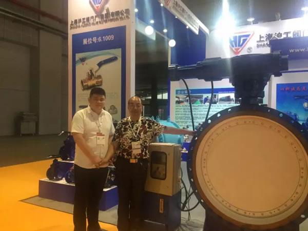 上海沪工阀门厂参加第五届 FLOWEX CHINA 上海国际泵管阀展 图3